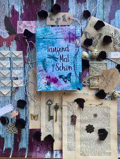 Marah Woolf, English Book, Disney Marvel, Altered Art, Journals, Horror, Fonts, Scrapbooking, Printables