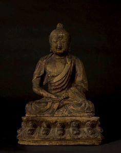 Ming Wooden Seated Buddha  Origin: China Circa: 15 th Century AD to 16 th Century AD