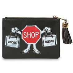 Moschino Totes ($350) ❤ liked on Polyvore featuring bags, handbags, tote bags, black, moschino, black tote bag, black handbags, moschino purse and black purse