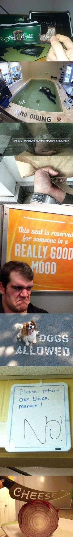 """This seat is reserved for someone in a really good mood!"""