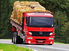Mercedes Benz Trucks, Highway To Hell, Heavy Equipment, Old Trucks, Cars And Motorcycles, Vehicles, Chevrolet Trucks, Old Muscle Cars, Vintage Cars