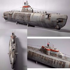 Wilhelm Bauer U-boat By/From: Robins Models  #submarine #submarino #wilhelm #miniature #miniatura #udk #usinadoskits #passatempo #tempolivre #scale #modelscale #hobby #plastimodelismo #german #germany #alemanhã