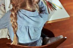 My niece, taken by my sister, Stephanie Congdon Barnes. braid