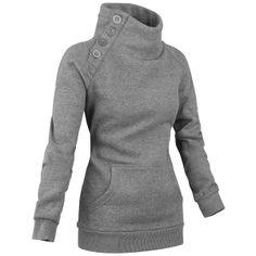 Turtleneck collared sweater
