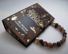 Sherlock Holmes SmartGirl Altered Book by SmartGirlBookPurses