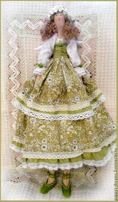 Куклы Тильды ручной работы. Ярмарка Мастеров - ручная работа В стиле тильда. Фея пряностей. Handmade.