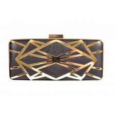 Kardashian Kollection Cut-out Long Clutch - Black - Women's