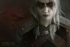 Geralt of Rivia · Cosplay Makeup SFX