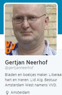 Take a good look at this man who sympathizes with massmurderer Breivik and is a functionar of the Dutch ruling VVD: this is what nazist evil looks like. Remember the face of this fascist beast.