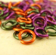 SALE 100 Jump Rings - Brandywine Valley Mix - You PICK 18 or 20 Gauge and Most Any Diameter. $8.00, via Etsy.