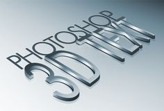 How to Create High Quality Metal 3D Text in Photoshop - Tuts+ Design & Illustration Tutorial
