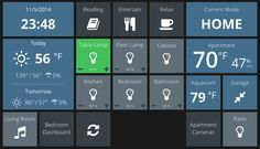Home Automation Dashboard - Projects & Stories - SmartThings Community