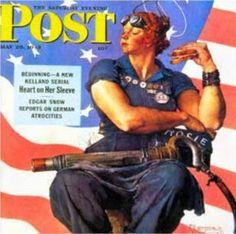 Salicchiella: È morta a 92 anni Rosie the Riveter (la rivettatri...