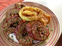 Get Low Carb Beefed-Up Meatloaf Recipe from Food Network