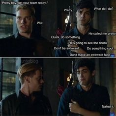 Shadowhunters S01E04 - Raising Hell - *fangirl scream* Finally Malec is Coming!
