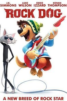 Rock Dog, Movie on DVD, Family