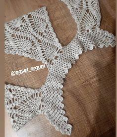Crochet Bikini, Crochet Top, Pineapple Crochet, Elsa, Knitting Patterns, Crochet Necklace, Womens Fashion, Vintage, Instagram