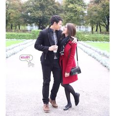 ฟินนนนนนนนนนนนนนนนนนน Mark Prin, Thai Drama, Drama Korea, Young Fashion, Traditional Dresses, Abs, Winter Jackets, Actresses, Couples