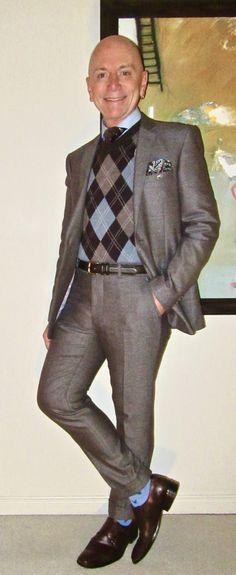 Moods Of Norway suit, Garret Scott argyle pullover, Circle Of Gentlemen shirt, Ermenegildo Zegna tie, Pegabo double-monks… #MoodsOfNorway #GarretScott #CircleOfGentlemen #ErmenegildoZegna #Pegabo #Toronto #WIWT #menswear #mensweardaily #mensfashion #instafashion #fashion #dandy #dandystyle #sartorial #sartorialsplendour #sprezzatura #menstyle #dapper #dapperstyle #menshoes