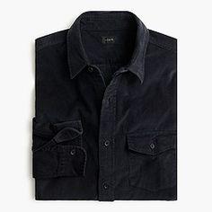 21-wale corduroy shirt