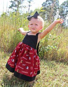 Florida State Seminoles Football Sun Dress