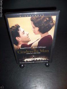 Cinderella Man (DVD, 2005, Widescreen)  Russell Crowe, Renée Zellweger Sealed