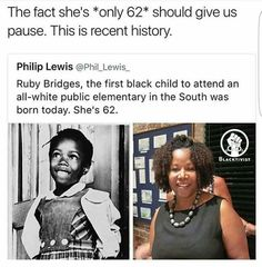 Not sure if this was actually 'today', but it'sPINTEREST: @BRIIZALLS still recent history...it was in the '60's in most of the US when segregation was completely eradicated