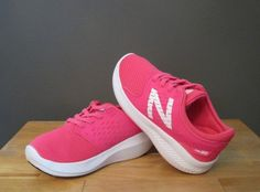 8aac58f7eaea99 New Balance Toddler Girl Pink White FuelCore Coast v3 Sneakers US 9 M NWB   fashion