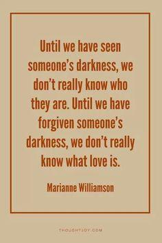 Forgive. Love