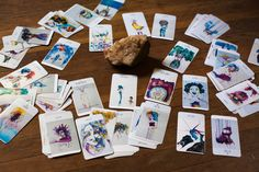 What Are Tarot Cards? Made up of no less than seventy-eight cards, each deck of Tarot cards are all the same. Tarot cards come in all sizes with all types of artwork on both the front and back, some even make their own Tarot cards What Are Tarot Cards, Tarot Learning, Beaded Curtains, Tarot Readers, Oracle Cards, Card Reading, Tarot Decks, Deck Of Cards, Illustration