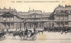 Album Photo, Louvre, History, Building, Palais Royal, Illustration, Place, Travel, Vintage