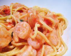 Spicy Shrimp & Tomato Pasta - Jillian's Kitchen