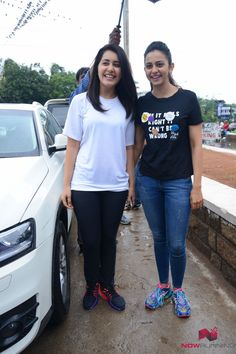 Rakul and Rashi participate in Haritha Haram