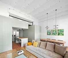 De aburridas oficinas a luminoso piso de soltero #hogarhabitissimo