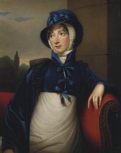 """Princess Amelia (1783-1810)"", Henry Bone, 1811; Royal Collection Trust 404272"