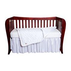 Amazon.com : Trend Lab Marshmallow 3 Piece Crib Bedding Set : Baby