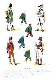 MINIATURAS MILITARES POR ALFONS CÀNOVAS: UNIFORMES del ejercito de Austria, ( 3 ), en las guerras NAPOLEONICAS, fuente = EDICIONES QUATOUR.