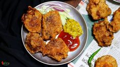 Chicken Pokora (Pakora) / Batter fried Chicken - Spicy World Simple and Easy Recipes by Arpita Chicken Pakora, Fried Chicken, Tandoori Chicken, Chaat Masala, Ramadan Recipes, Food Categories, Food Reviews, World Recipes, Easy Meals