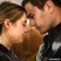Tris and Four from the Divergent series Tris And Tobias, Tris And Four, Divergent Series, Insurgent Movie, Dont Disturb, I Scream, More Words, Hunger Games, Tangled