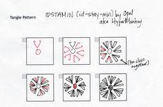 #Idstamin (id-stay-min) #zentangle