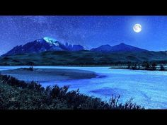 ☯ The Sweetest Sleep Music with Blue Nightlight ☯ Relaxing Music for Dee.