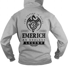 I Love EMERICH DRAGON T shirts