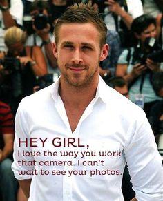 "80 Of The Best Ryan Gosling ""Hey Girl"" Posts"