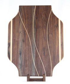 Walnut Maple Butcher Block Cutting Board / by BlueMtnWoodworks, $200.00