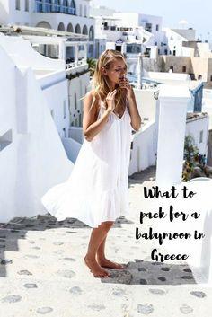 be727fa7ef6f7 Babymoon Ideas. Greek Inspired FashionGreece OutfitIsland OutfitHoneymoon  VacationsSummer Maternity ...
