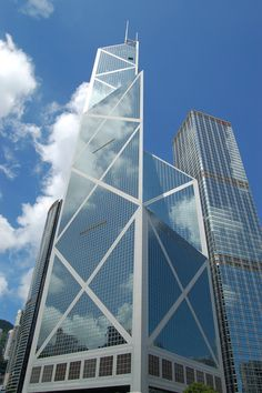 Bank of China Tower- Hong Kong, China