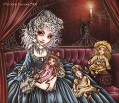 "Vampire ""Claudia"" by Victoria Frances"
