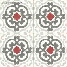 Cement Tile Shop | Geneva Red