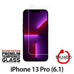 Brando Workshop Premium Tempered Glass Protector (Rounded Edition) (iPhone 13 Pro (6.1))