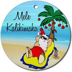 hawaiian merry christmas song